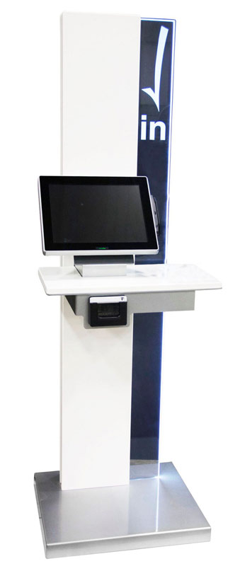 New Registration Kiosk