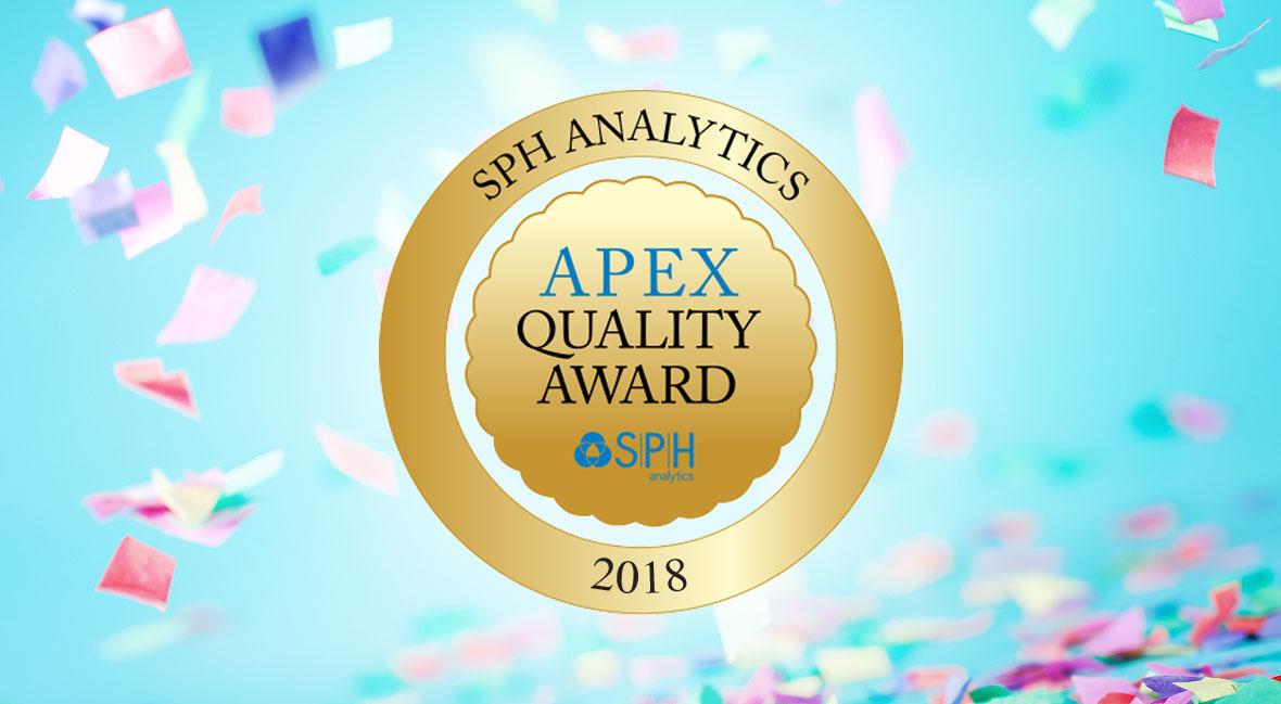 LICDH Wins Fifth Consecutive APEX Award